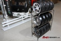 oneTEN Scale Tire Rack DriftMission Your Home for RC Drifting