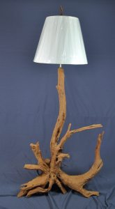 Sandblasted Floor Lamp