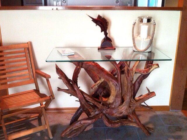 Merritt Island lacquered foyer table