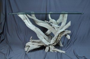 Driftwood sofa tables