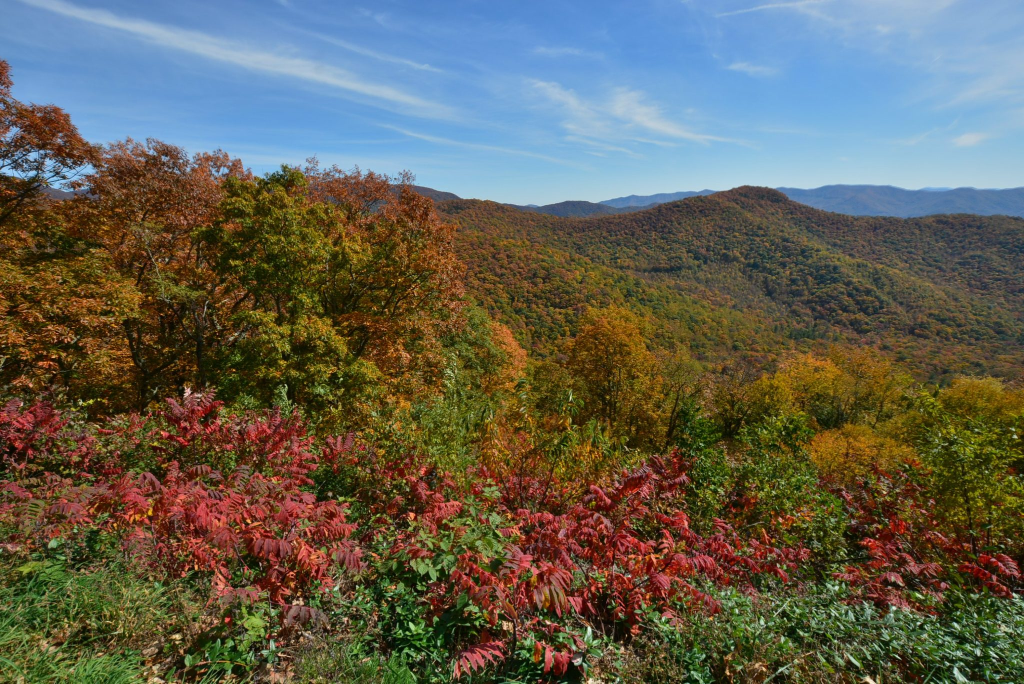 A long weekend in the mountains to see the fall foliage