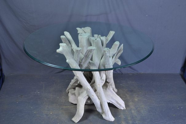 driftwood-dining-table-base-round -glass
