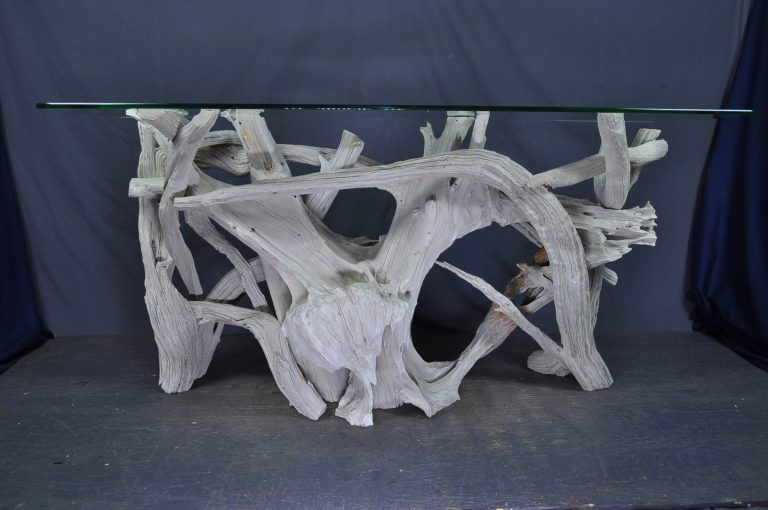 white-driftwood-foyer-table