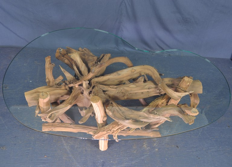 sandblasted-driftwood-coffee-table