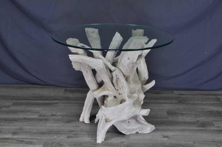 driftwood -side- table-round-glass