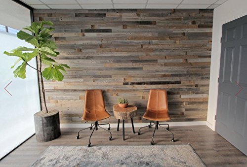 Self Adhesive White Brick 3d Wallpaper Reclaimed Barn Wood Wall Panel Easy Peel And Stick