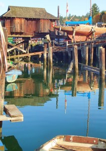 On the ways in Cowichan Bay