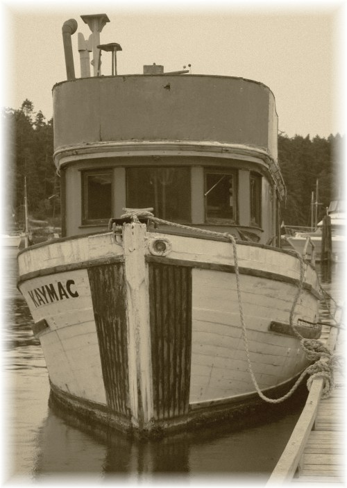 The 'KAYMAC' The boat that wouldn't go away