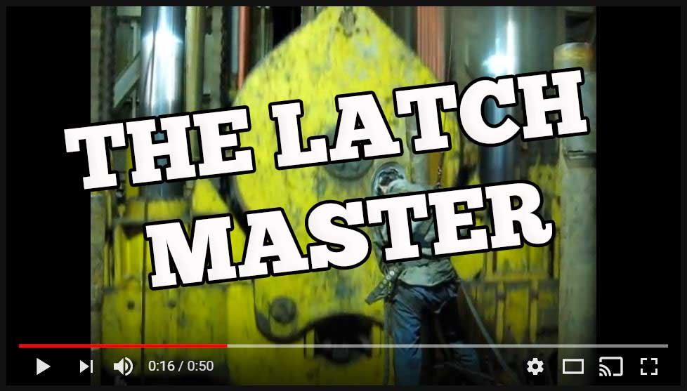 the latch master you tube video share