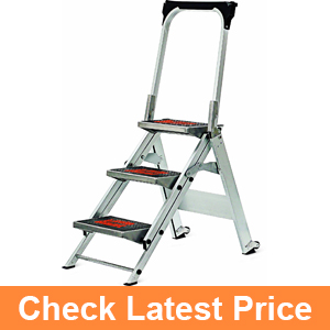 Little Giant, 3 step, Aluminum, 2-1by4 Feet, 300 lb. Capacity Stepladder