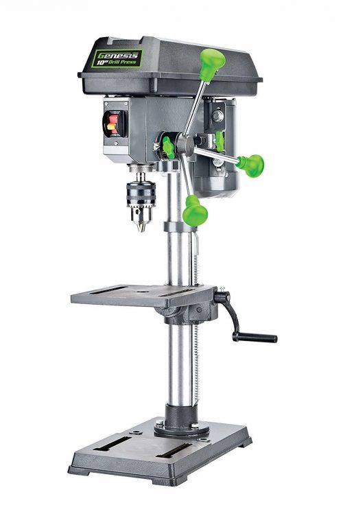 Genesis GDP1005A 10″ 5-Speed 4.1 Amp Drill Press