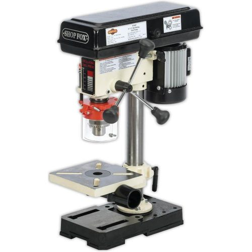 Shop Fox W1667 12 HP 8-12-Inch Bench-Top Oscillating Drill Press
