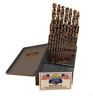 29Pc Cobalt Drill Bit Set M42 HSS 29pc