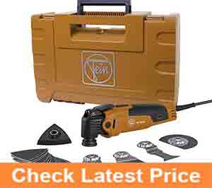 FEIN-FMM350QSL-MultiMaster-QuickStart-StarlockPlus-Oscillating-Multi-Tool-with-snap-fit-accessory