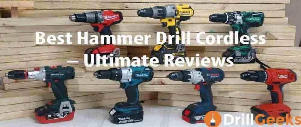 Best Hammer Drill Cordless
