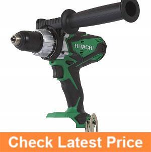 Hitachi-DV18DSDLP4-18-Volt-Cordless-Lithium-Ion-Hammer-Drill.