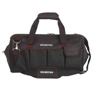 WORKPRO-W081023A-Close-Top-Storage-Tool-Bag,-18,-BlackRed