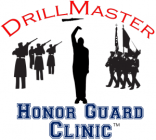 DrillMaster Honor Guard Clinic Logo