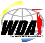 world drill association, drill team, exhibition drill
