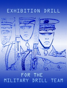 drill team traiing: XD Cover 2AExhibition Drill for the Military Drill Team