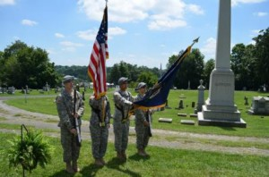 Cadet joint service honor guard academy