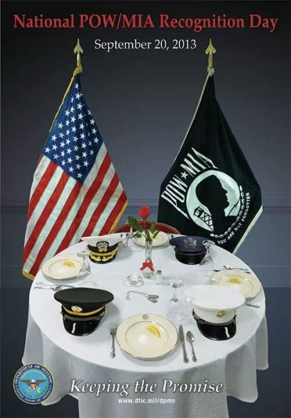 POW-MIA Table Bad Setup