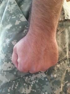 Marine Corps Hand Style