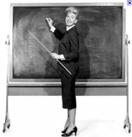 Training Pic Doris Day