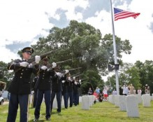 Three-volley Salute ARNG