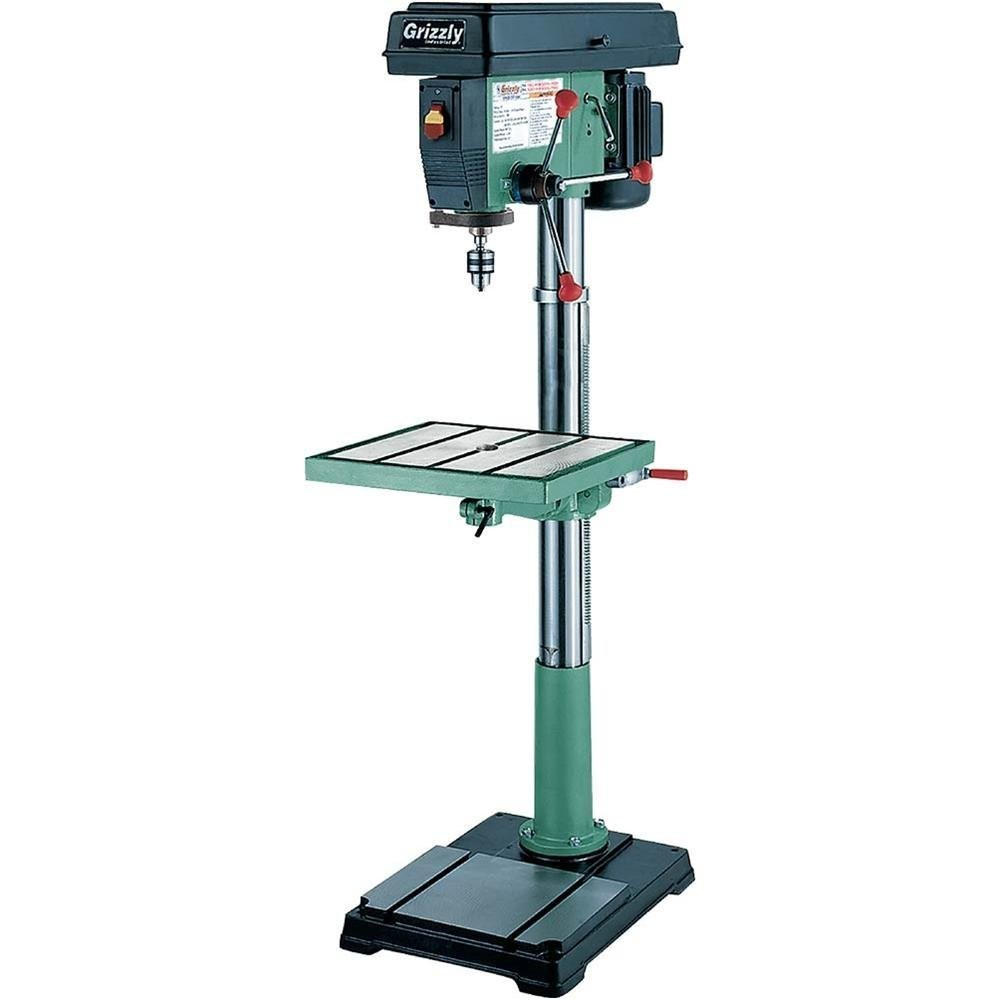 Grizzly G7948 12 Speed Floor Drill Press 20Inch