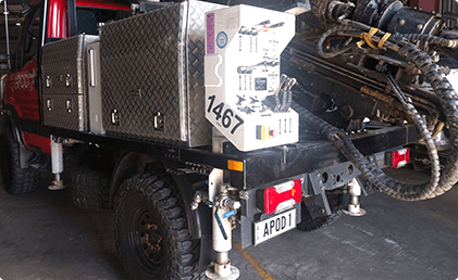 vehicle Mounted Geotech Rigs