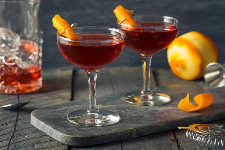 Boulevardier Cocktail negroni