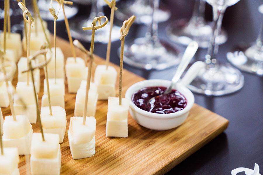 finger food per cocktail