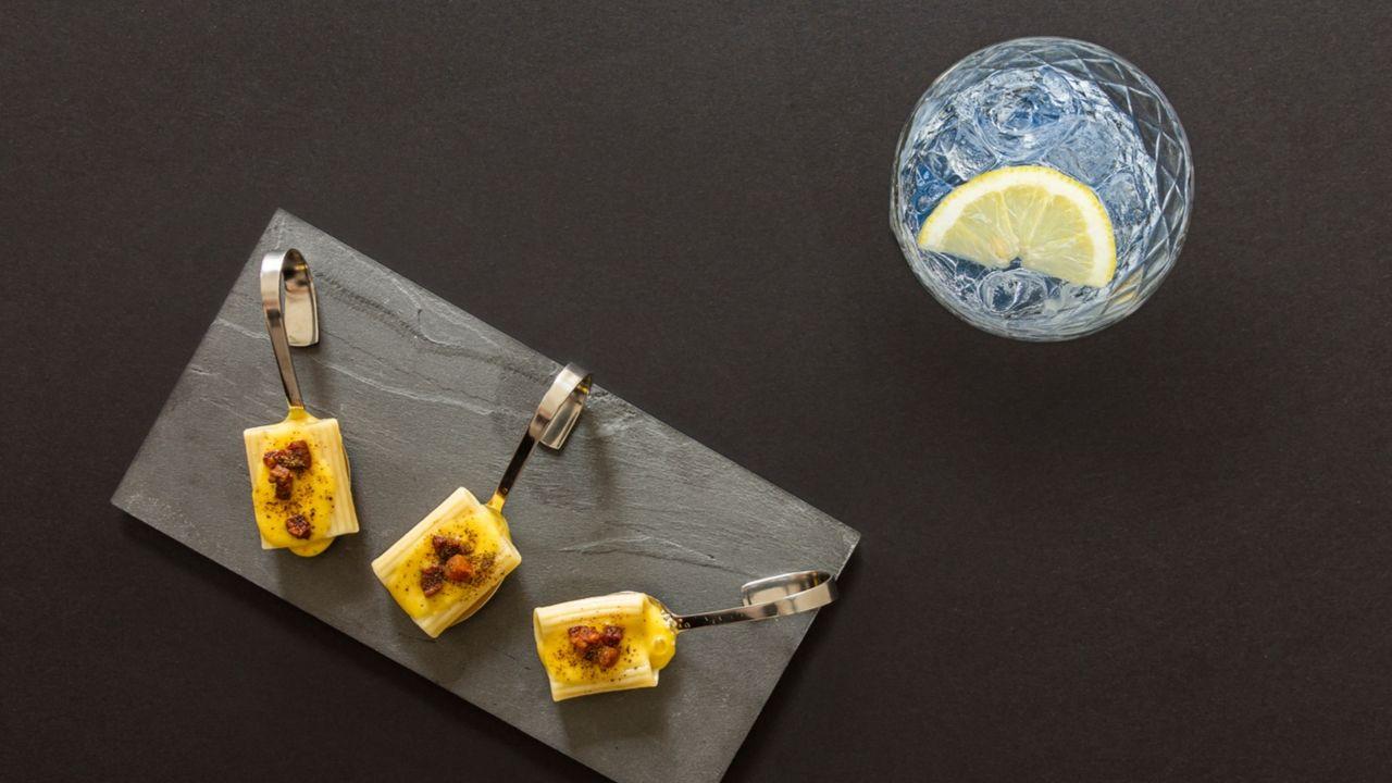 Gin Tonic e Carbonara fredda al gin