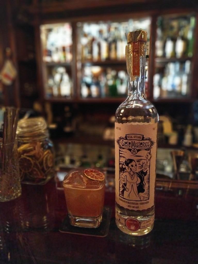 drink LAS CALACAS di Alessio De Simone bartender Wisdomless Club di Roma