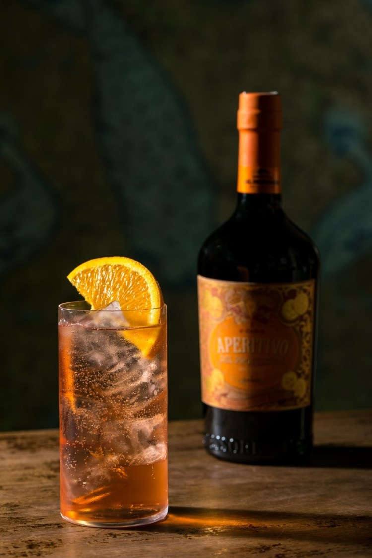 drink APERITIVO&TONIC della crew del Jerry Thomas Speakeasy di Roma