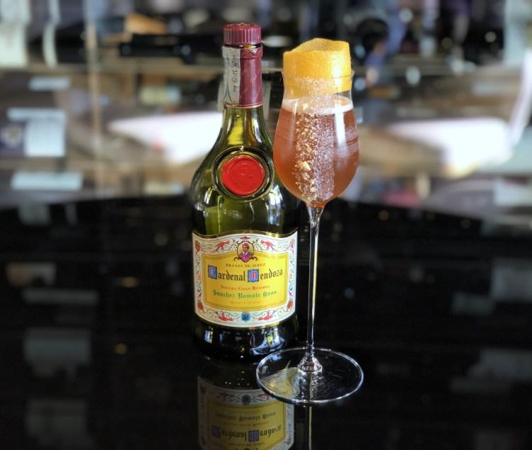 drink BREADY CRUSTA di Sabina Yausheva, bartender del Bar Julep dell'Hotel de la Ville di Roma 2