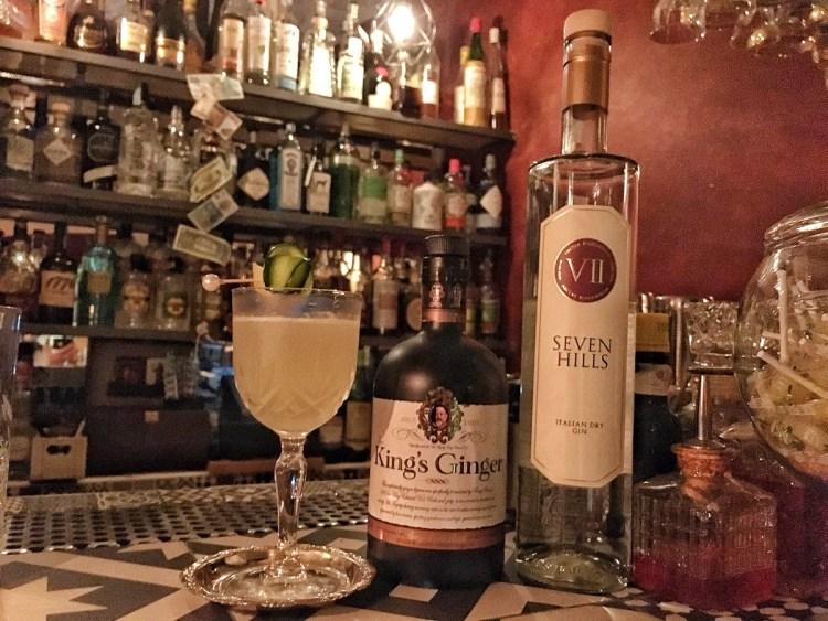 drink GINGER HILLS di Giambattista Rizzi e Filippo Veneziani, proprietari e bartender del Southside Cocktail Bar di Monopoli 2