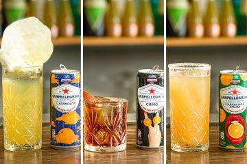 cocktail bibite sanpellegrino