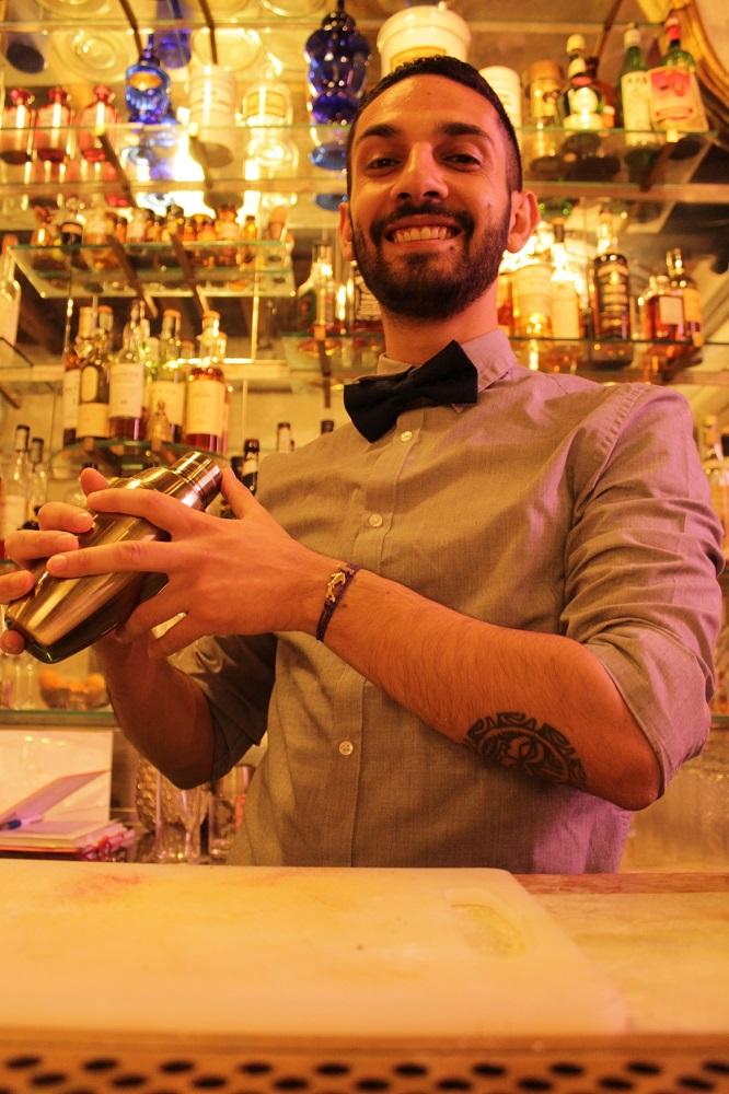 Daniele D'Ercole barman