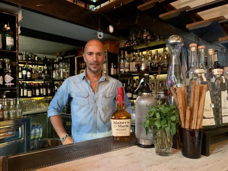 Roberto Gulino proprietario e bar manager de La Bodega di Cosenza