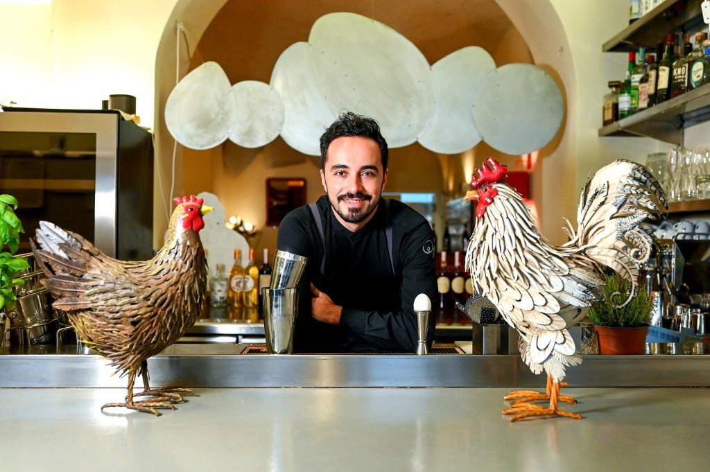 Franco Di Pietro bar manager di EGGS a Roma 1