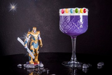 drink INFINITY GAUNTLET (Thanos) realizzato da I Maestri del Cocktail PHOTO BY GIOVANNA DI LISCIANDRO 2