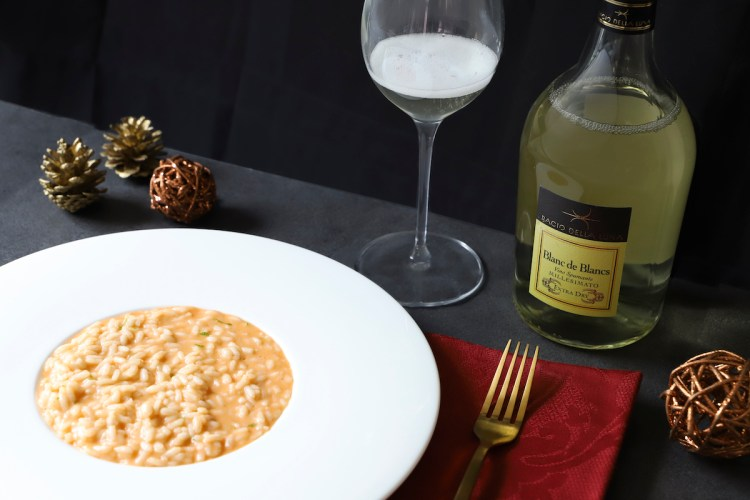 Risotto Natale-Extra dry Blanc