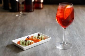 spritz campari salmone idee per aperitivo