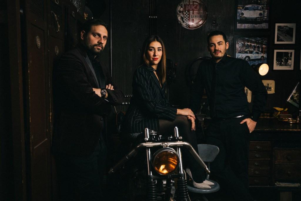 da sinistra Benedetto Guarino, Giulia Castellucci e Riccardo Bucci PHOTO by Alberto Blasetti e Andrea Di Lorenzo