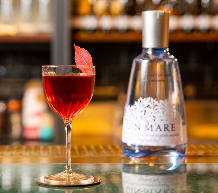 Cherry Chocolate Negroni by Gin Mare