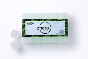 ghiaccio aromatizzato zhero ice cube