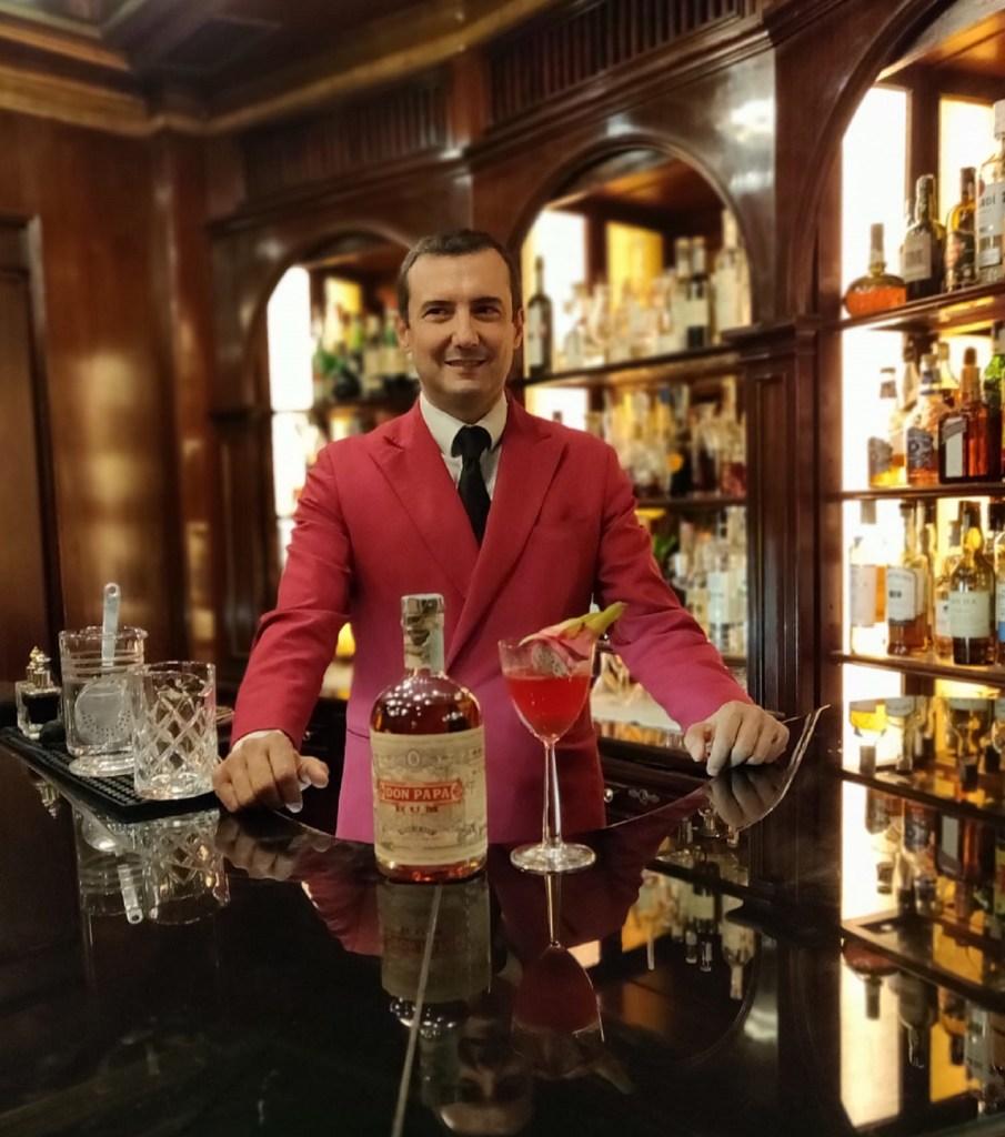 Stefano Santucci head barman dell'Hotel Hassler di Roma 11