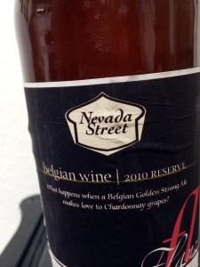 Belgian Wine